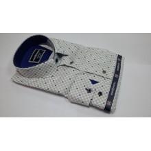 Мужская брендовая рубашка NINO PACOLI 6085 CR DIGITAL